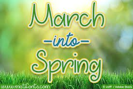 March into Spring